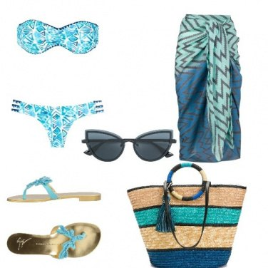 Outfit Voglia d\'azzurro