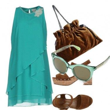 Outfit Menta e cioccolato