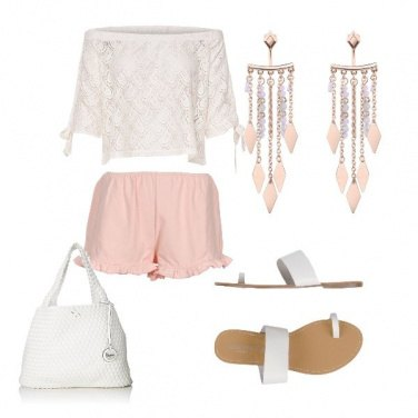 Outfit Rosa pesca