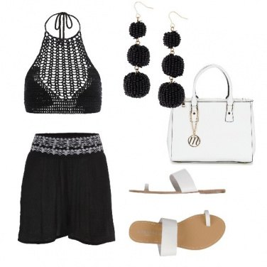 Outfit Serata in spiaggia