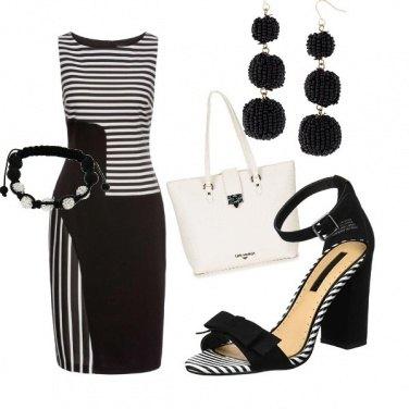 Outfit Gioco di righe