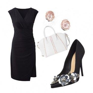 Outfit La scarpa di paillettes