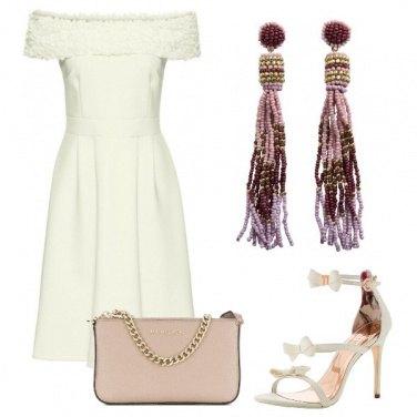 Outfit Elegante e romantica
