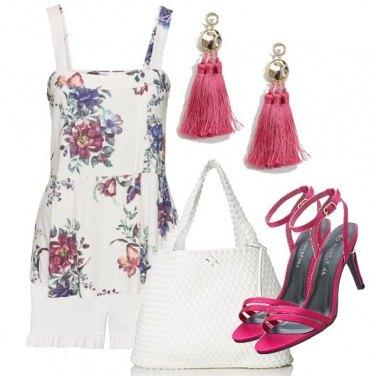Outfit I sandali fuxia