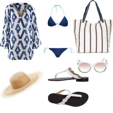 Outfit Basic, vacanze in riviera