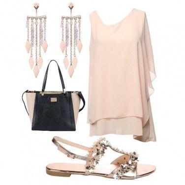 Outfit Elegante look damigella