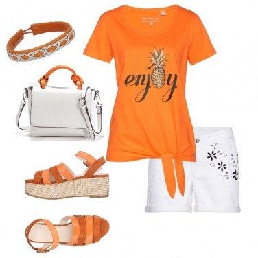 Outfit Gioia arancio