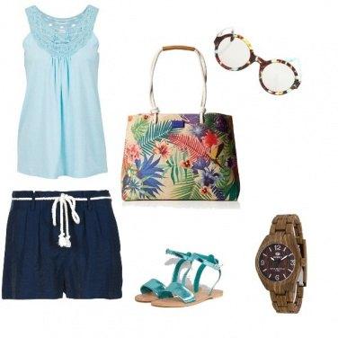 Outfit Basic, comoda per il tempo libero