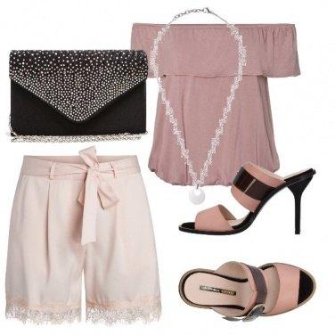 Outfit Il ciondolo di perla