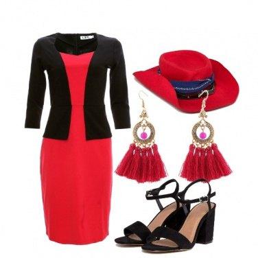 Outfit Orecchini con le nappine