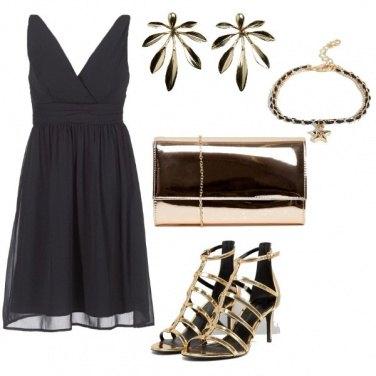 Outfit Nero gioiello