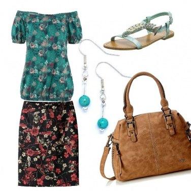 Outfit Come un campo fiorito