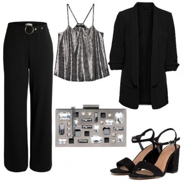 Outfit Completo pantalone elegante