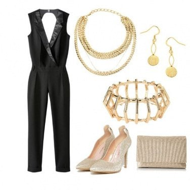 Outfit Golden look