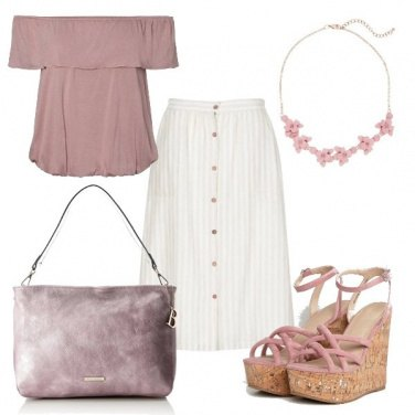 Outfit Pink ton