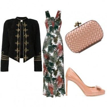Outfit Hourglass Autumn Gala Dress Code Long 40