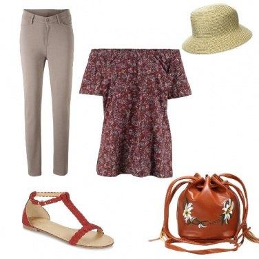 Outfit Comodamente romantica