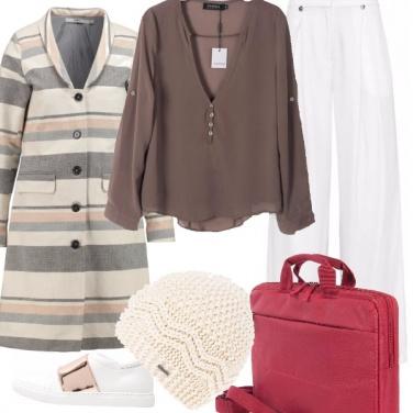 Outfit Le mille righe delle donne