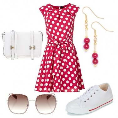 Outfit Vintage casual dress