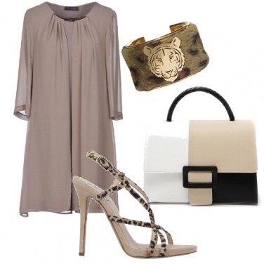 Outfit Chic con colori sobri