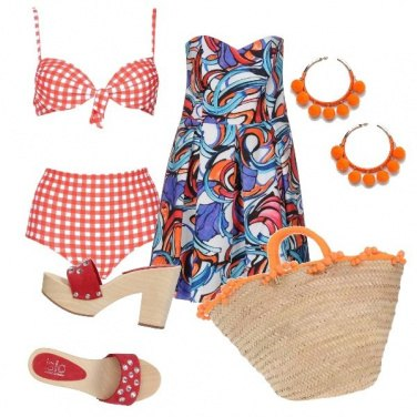 Outfit CMPS Happy B-day stile vintage