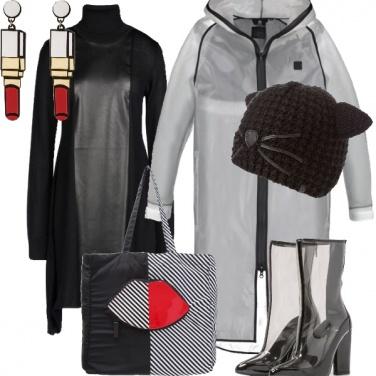 Outfit Discreta, in trasparenza