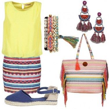 Outfit Con i colori del Messico