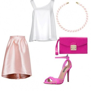 Outfit Sera in rosa