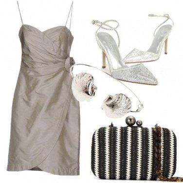 Outfit Tortora e argento