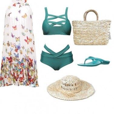 Outfit Il bikini intrecciato