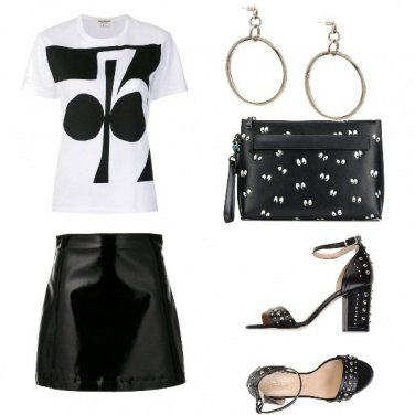 Outfit Serata in T-shirt