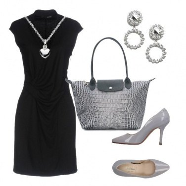 Outfit Collana a cuore