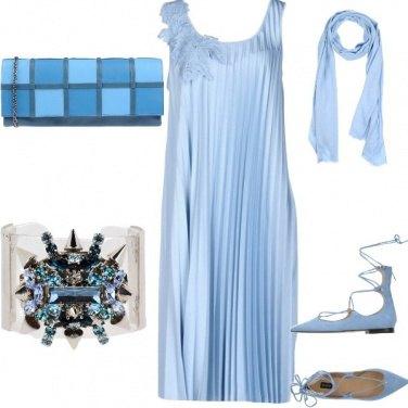 Outfit Serata celeste