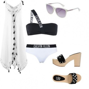 Outfit Festa in spiaggia