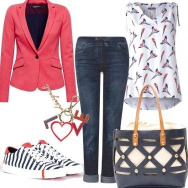 Outfit Casual e colorato