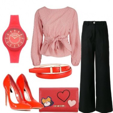 Outfit Rosso e amore