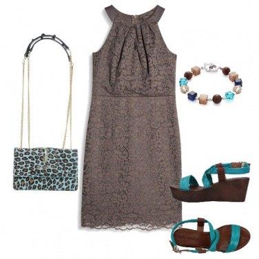 Outfit Cioccolato e tuchese