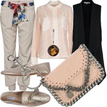Outfit Effetto laminato
