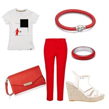 Outfit Oggi in rosso