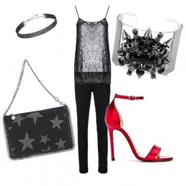 Outfit Notte scintillante