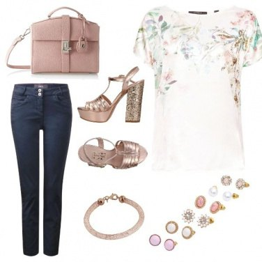 Outfit Rosegold