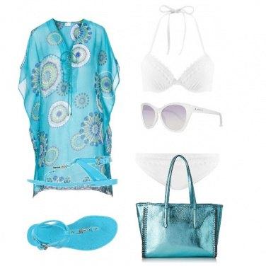 Outfit Azzurro cielo