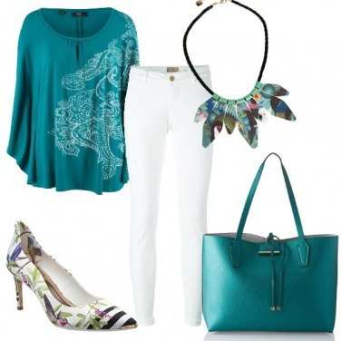 Outfit Verde tropical