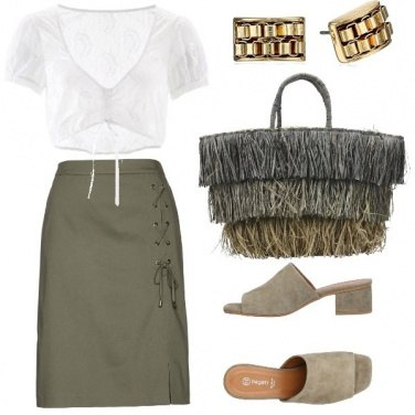Outfit Verde estivo