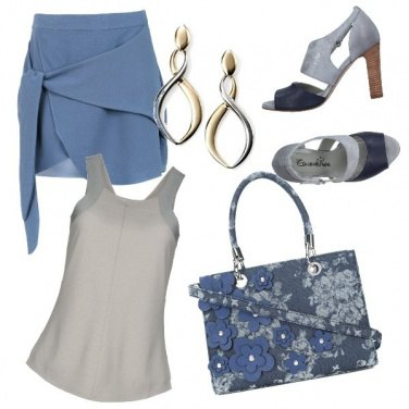 Outfit CMPS Color denim
