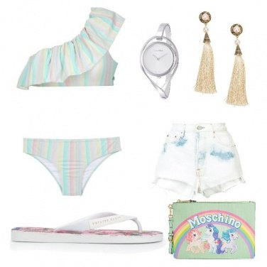 Outfit Aperitivo in piscina