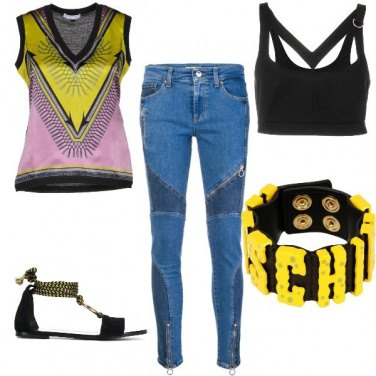 Outfit Disco jeans