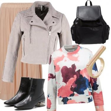 Outfit Romanticismo moderno