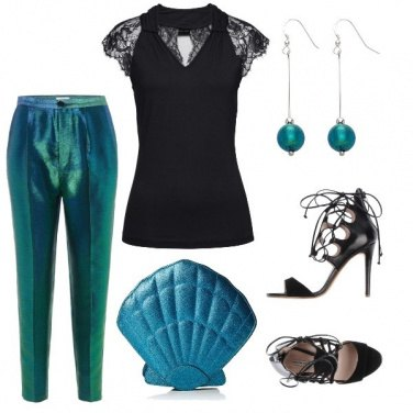 Outfit Metallizzata