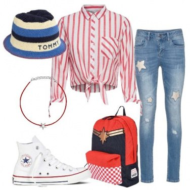 Outfit Stars and stripes !